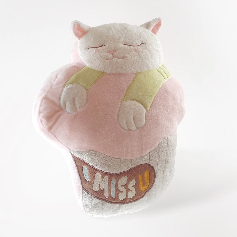 Cute Cat Plush Pillow