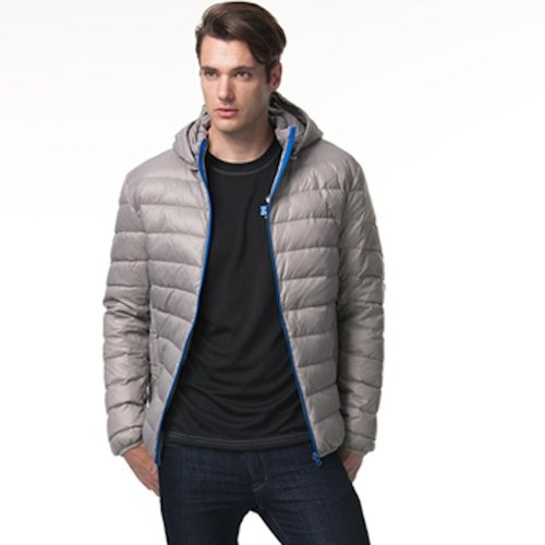 Lightweight warm down jacket