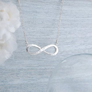 infinitas unlimited extension - hand forging knock version (silver necklace)