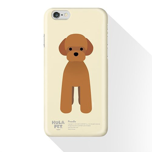 HULA PET MOBILE CASE FRONT VERSION POODLE (iphone 6)