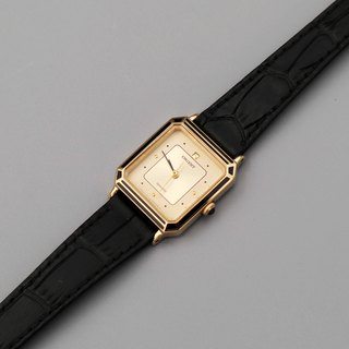 ORIENT Oriental Table 1970's New Stock Advanced 珐琅 Quartz Watch