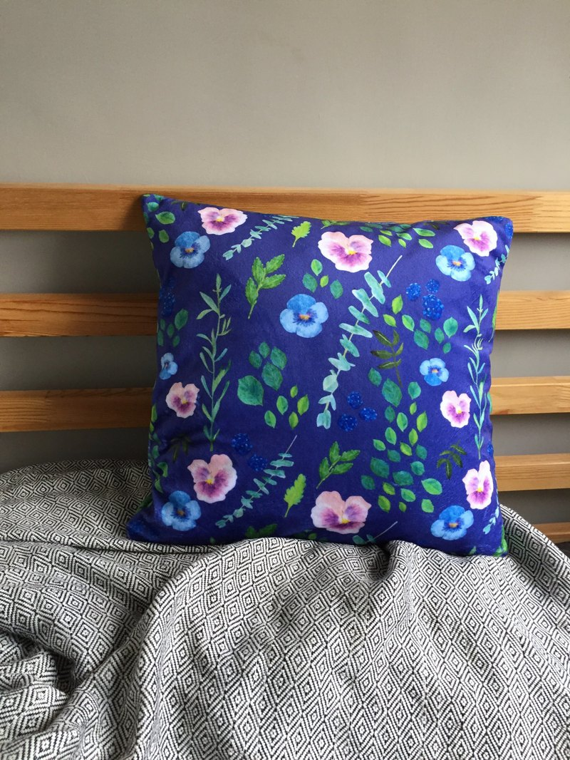 Zhu Xi flower pillow pillow plus pillow - with pillow
