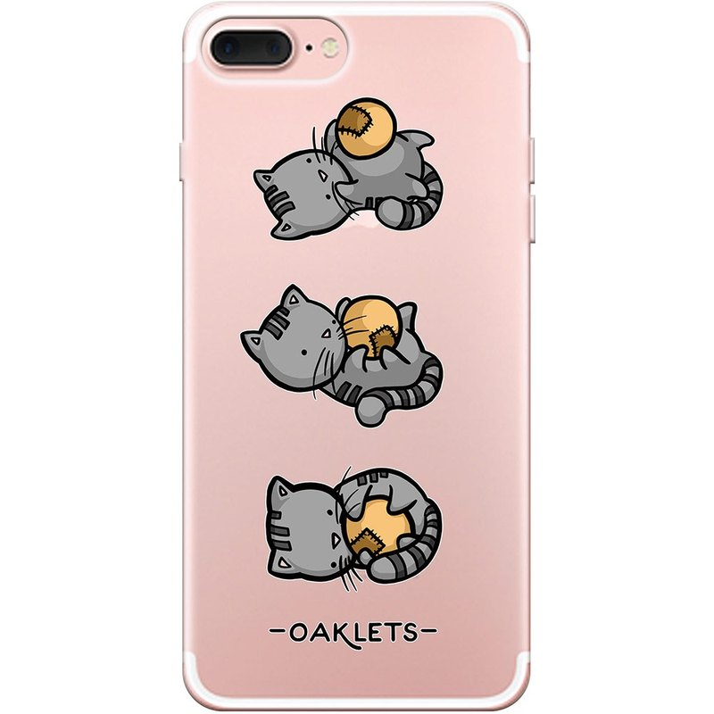 "New series - [cats with balls] -Oaklets-TPU phone case ""iPhone / Samsung / HTC / LG / Sony / millet / OPPO"", AA0AF151"