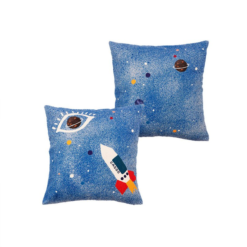[draft / ciaogao] original design children's room universe series star star creative pillowcase