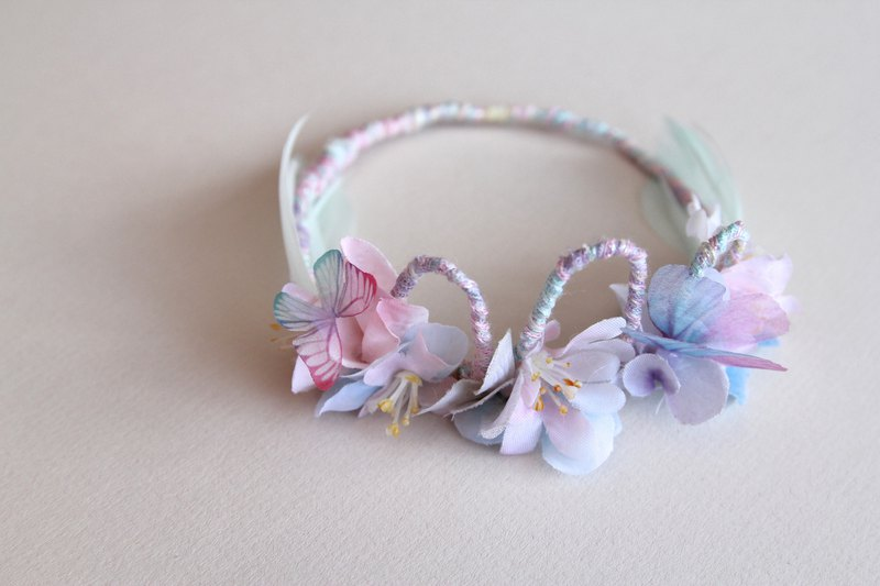 Fairytales , Fariy,Newborn Headband , Baby Head wrap , Girl Hair band