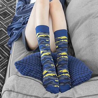 Women's Socks - Invisible Sea - British Design for Stylish Ladies