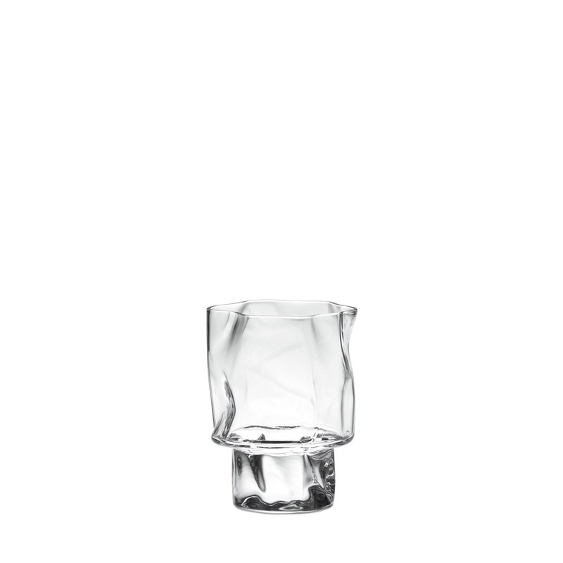 Crumpled wine glass 120ML