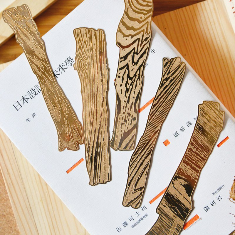 Desk+1 Wood Figure of Taiwan Native Tree Bookmark