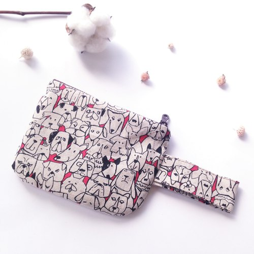 Year of the Dog special meal - Wang Wang Xianbei - a handmade morning purse Pocket handbag package