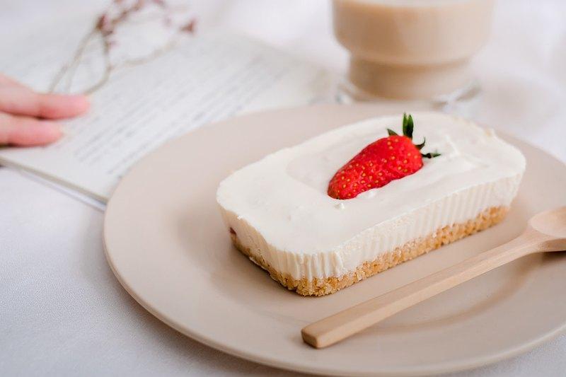 迷你盒-草莓香草芝士蛋糕(低糖)