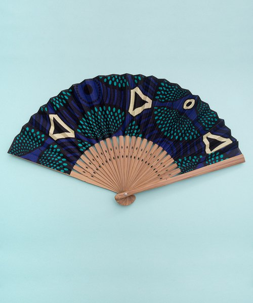 AFRICAN FABRIC x JAPANESE FAN