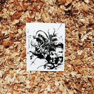 "Stickers ""Sanada Yukimura"" (white ground)"