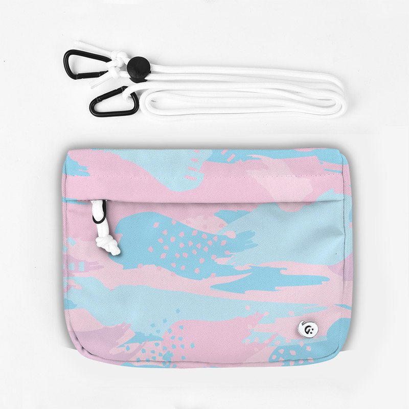 Grinstant mix and match detachable group shoulder bag - Dream Series (Pink Camo)