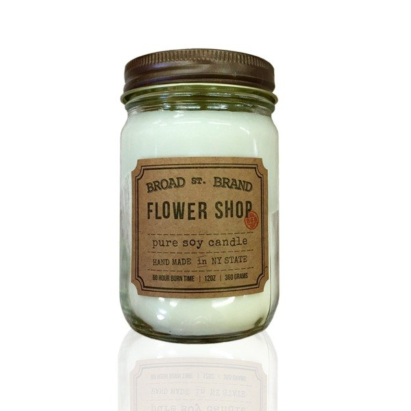 [KOBO] American Soybean Essential Oil Candle - Flower Shop Morning (360g/combustible 60hr)