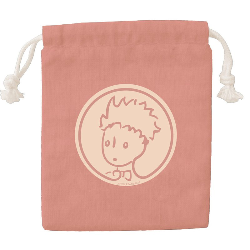 Little Prince Classic Edition - Color Drawstring Pocket - [Rose Garden (Powder)] CB6AA05