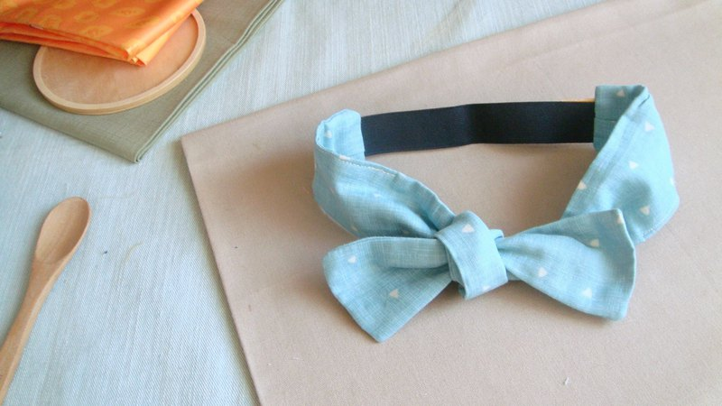 Free l limited small triangle series l bow tie tied tie hair band