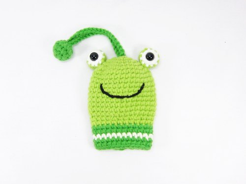 Frog eyed frog keychain Wallets admission package (small)
