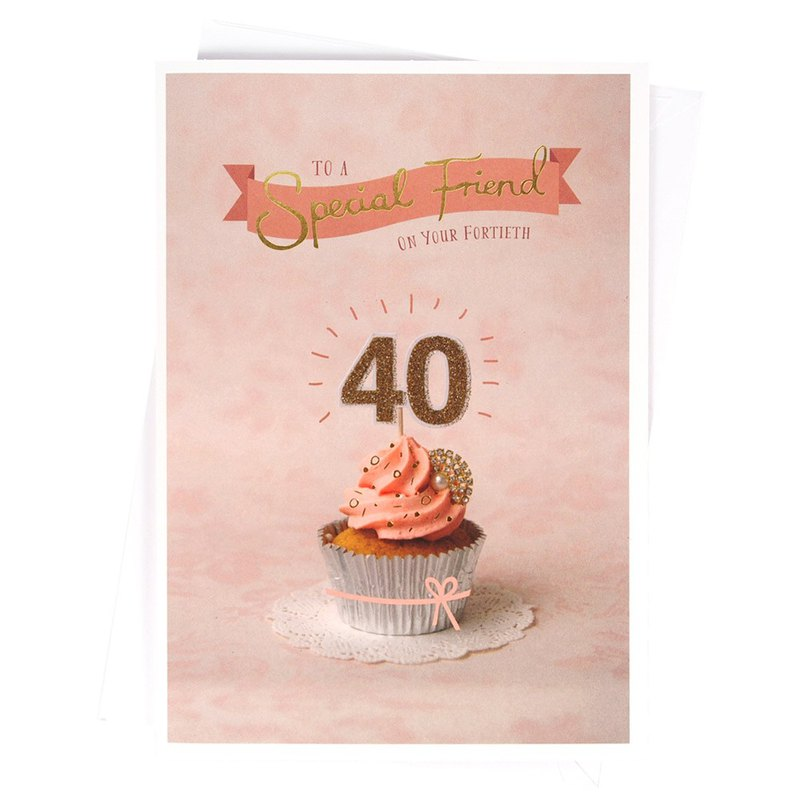 Beautiful 40th Birthday [Hallmark - Card Birthday Blessing]