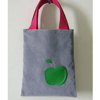Green apple walking pouch