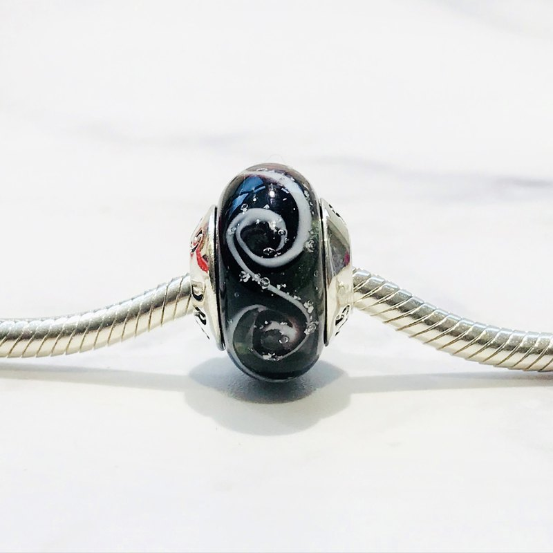 PANDORA/ Trollbeads / All major bead brands can be stringed * - Black ash