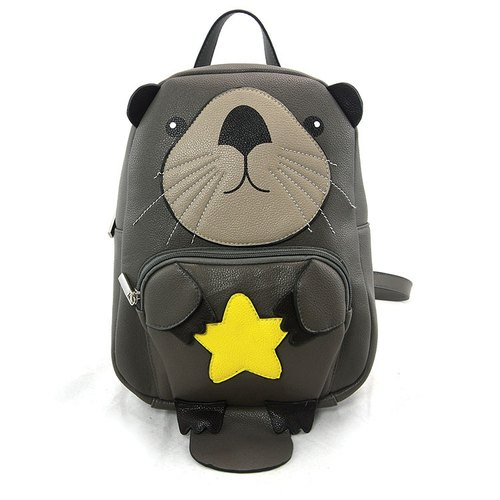 Sleepyville Critters - Baby Beaver Holding a Star backpack