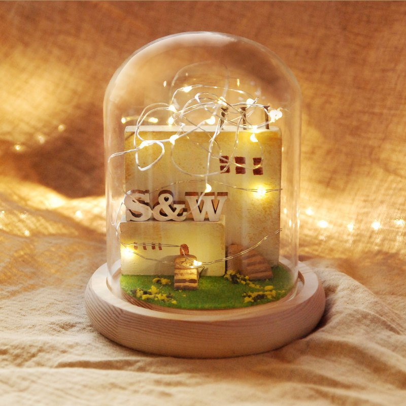 Hong Kong (rc730610) Castle Night Light - Customized