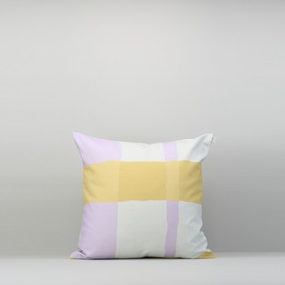 Pillow Case / Waterproof Paint / Yellow Purple / No Pillow