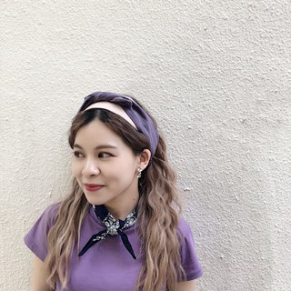 lavender Elastic hair band