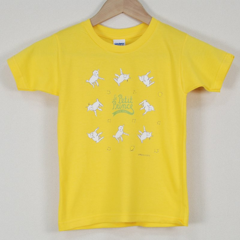 Little Prince Classic Edition Authorization - T-shirt: [sheep] children's short-sleeved T-shirt, AA17