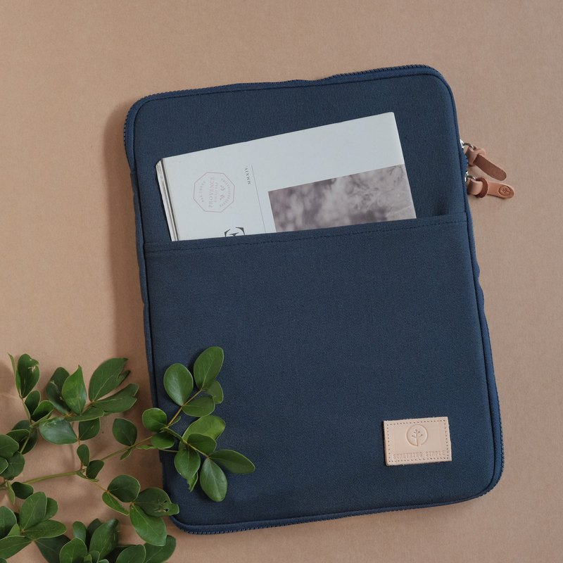 OVERTIME laptop sleeve - Navy