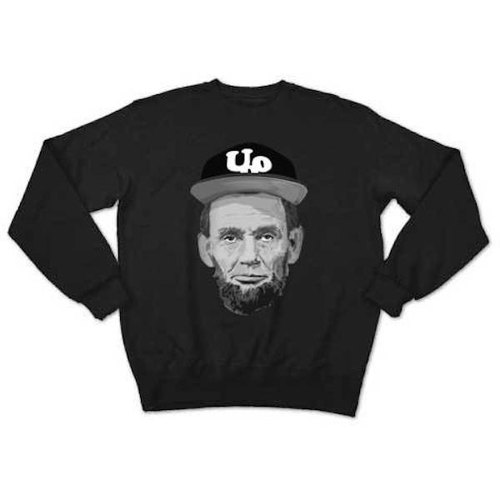 Abraham Lincoln Outdoor (sweat black)