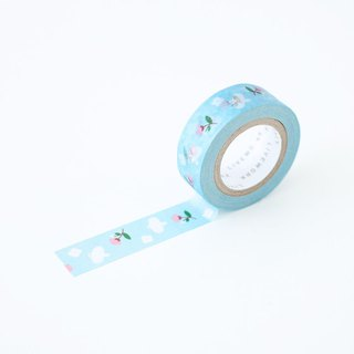 livework-Piyo paper tape (single) - April sky, LWK53268