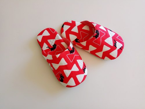 <Christmas gifts> cats and bows children indoor slippers indoor shoes Christmas gifts