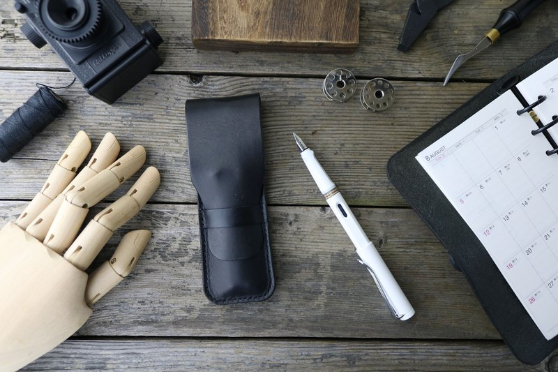 <隆鞄工坊>-pen holster/pen/two/LAMY exclusive