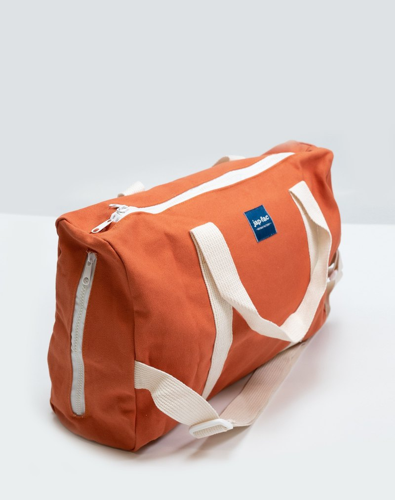 RED PEACH DUFFLE BAG