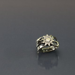 Small universe 925 silver ring
