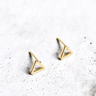Minimal Triangle Ear Studs