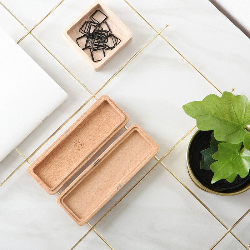 [New] Pana Objects Original Woodcut - Pencil Case