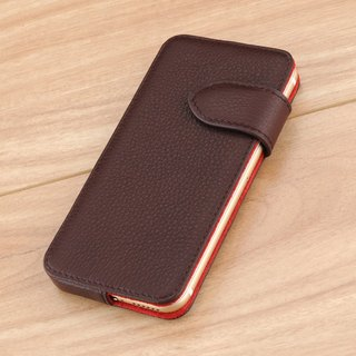 STORYLEATHER made (APPLE iPhone series) Style E2 glasses side open double-sided leather case