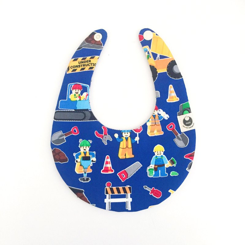 American LEGO X Japan Light Color Cotton Eight-layer Yarn Saliva towel Scarf bib pocket
