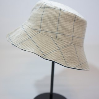 Off-white lines X blue cowboy hat handmade Limited