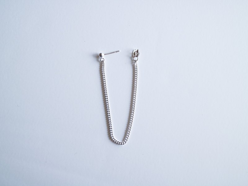 CECIL SILVER CHAIN PIERCE
