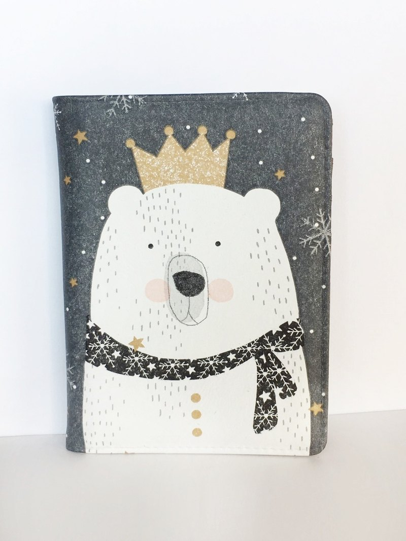 "Hand a gift""Multi-purpose passport""Bear prince / passport folder travel abroad Valentine's Day birthday Christmas gift"