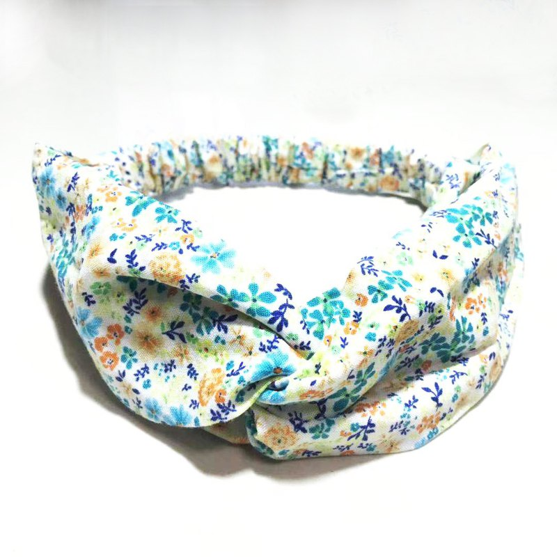 Colored small floral / handmade elastic hair band