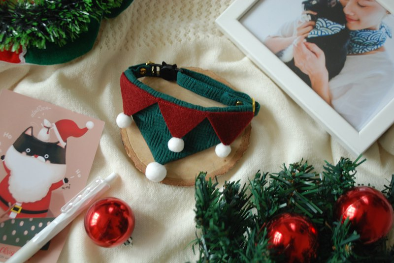 A-NI Dog Collar and Puppy Christmas version