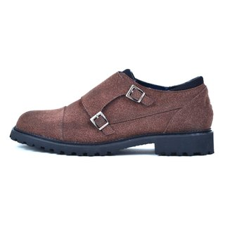 [DOGYBALL simple life] classic British Mengke shoes environmental concept casual shoes - brown