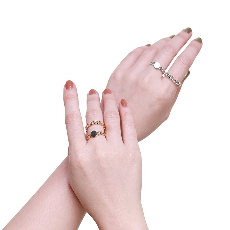 Tana Chain Gold / Silver Ring