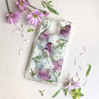 沁 dry flower phone case