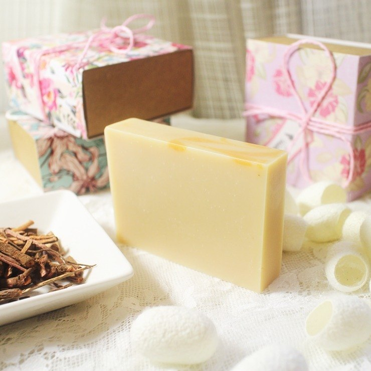[Leian Bo Cleansing Soap Soap] madder silk. Natural silk protein │ │ natural amino acid natural handmade soap │SGS inspection