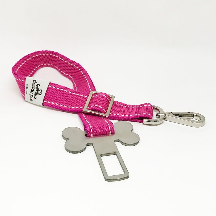 Seat Belt for Pet - Pink